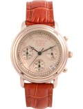 Krug Baümen 150575DL Principle Diamond Ladies Rose Gold Chronograph Watch