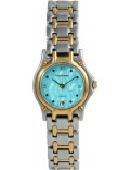 Krug Baümen 4119KL Ladies Marquis Two Tone Blue Dial