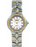 Krug-Baumen 2614DM Regatta 4 Diamond White Dial Two Tone Strap