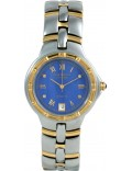 Krug Baümen 2615DM Regatta 4 Diamond Blue Dial Two Tone Strap