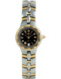 Krug Baümen 2616DL Regatta 4 Diamond Black Dial Two Tone Strap
