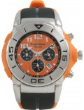Krug Baümen 160502KM Kingston Orange Sports Chronograph Watch