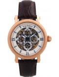 Krug Baümen 60252KM Mens Majestic Brown Leather Strap Watch