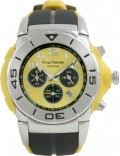 Krug Baümen 160503KM Kingston Mens Yellow Sports Chronograph Watch