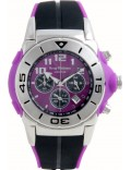 Krug Baümen 160510KM Kingston Gents Purple And Black Chronograph