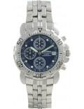 Krug Baümen 241269DM-BL Blue Sportsmaster Diamond Mens Chronograph Watch