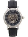 Krug Baümen 60111KM Mens Prestige Black Leather Strap Watch
