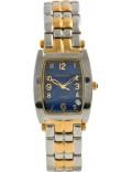 Krug Baümen 1964KM-T Mens Tuxedo Two Tone Steel Bracelet Watch