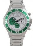Krug Baümen 140603KM Mens Challenger Silver Chronograph