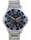 Krug Baümen 140502KM Vanguard Black Blue Steel Watch