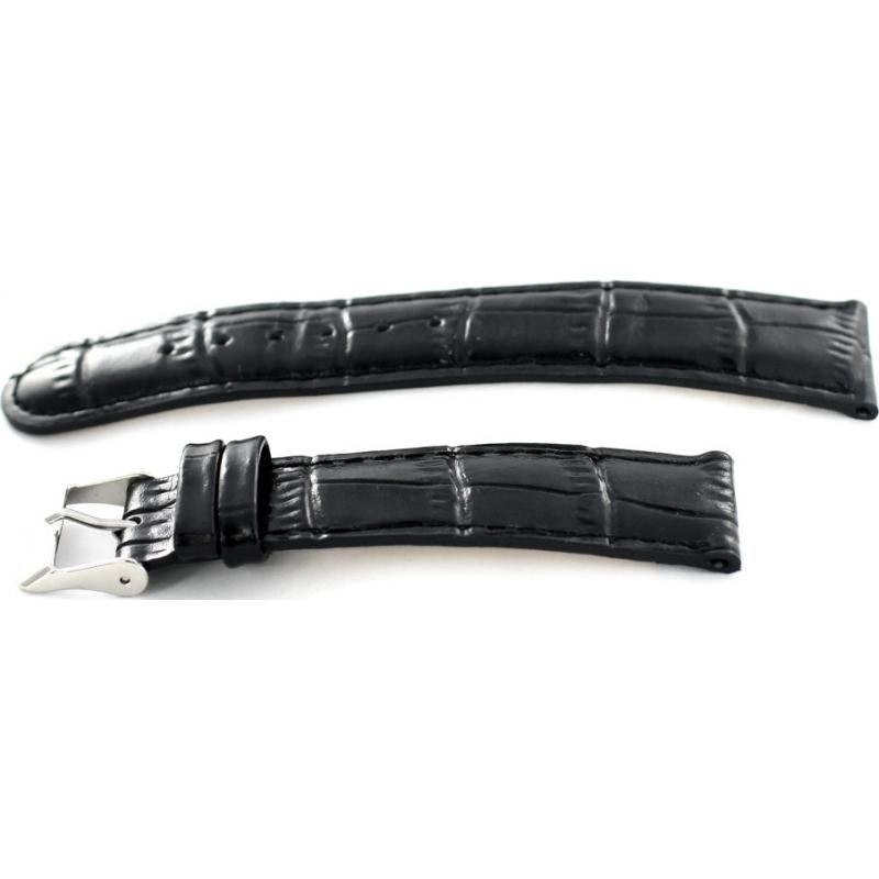 Krug-Baumen 15058BLCKL Ladies Enterprise Black Leather Replacement Strap