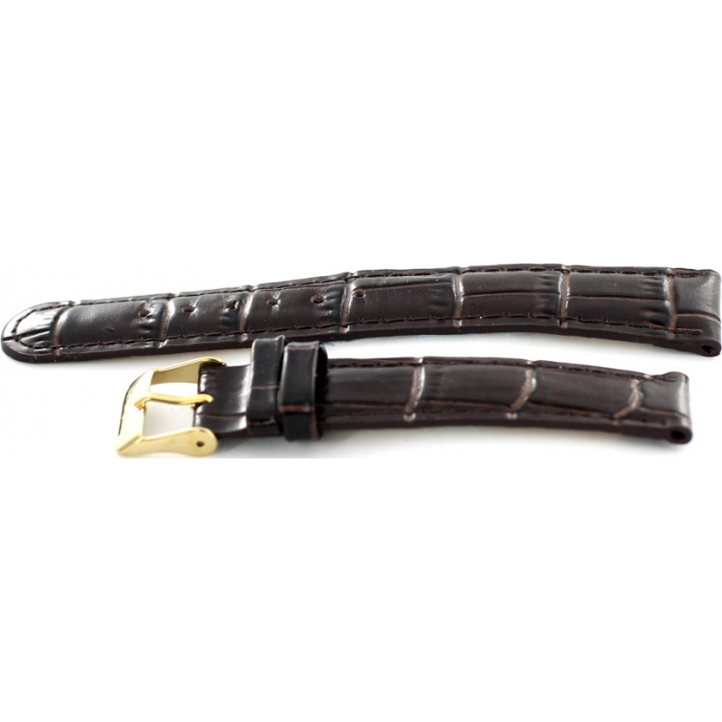 Krug-Baumen 15058BRNL Ladies Enterprise Brown Leather Replacement Strap
