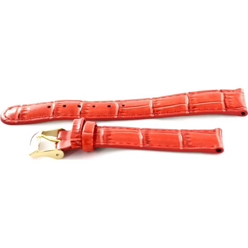 Krug-Baumen 15058REDL Ladies Enterprise Red Leather Replacement Strap