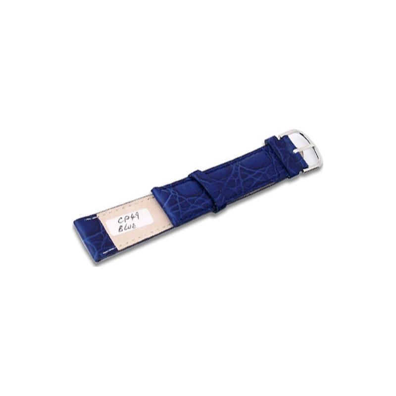 Krug-Baumen CP49BlueL Neon Blue Leather Replacement Ladies Principle Strap