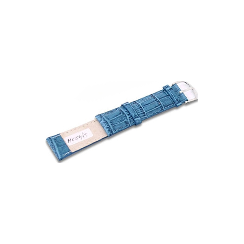 Krug-Baumen MC15619G Sea Blue Leather Replacement Mens Principle Strap