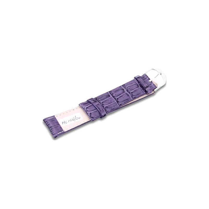 Krug-Baumen MC15620G Candy Purple Leather Replacement Mens Principle Strap
