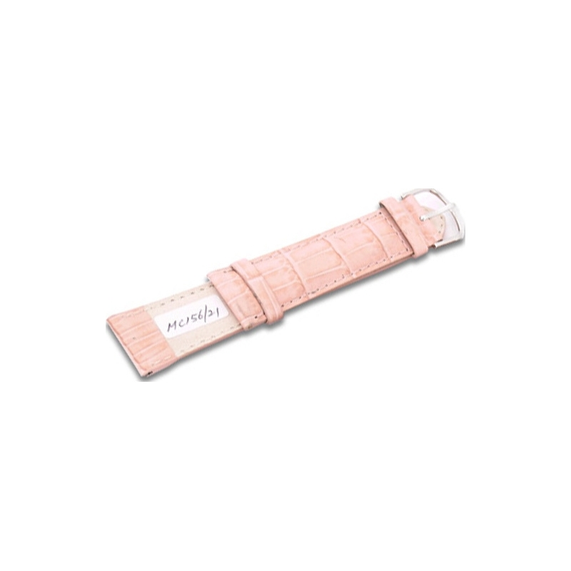 Krug-Baumen MC15621G Peach Pink Leather Replacement Mens Principle Strap