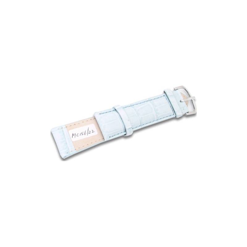 Krug-Baumen MC15622L Baby Blue Leather Replacement Ladies Principle Strap