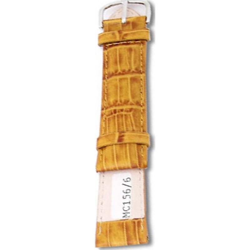 Krug-Baumen MC1566L Yellow Brown Leather Replacement Ladies Principle Strap