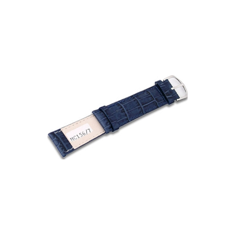Krug-Baumen MC1567G Deep Sea Blue Leather Replacement Mens Principle Strap