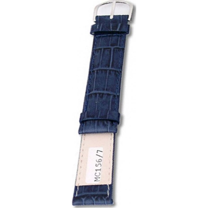 Krug-Baumen MC1567L Deep Sea Blue Leather Replacement Ladies Principle Strap