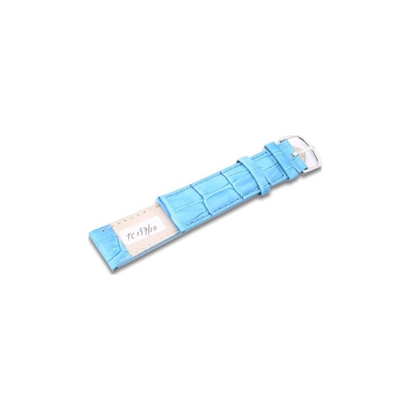 Krug-Baumen TC19710L Neon Blue Leather Replacement Ladies Principle Strap