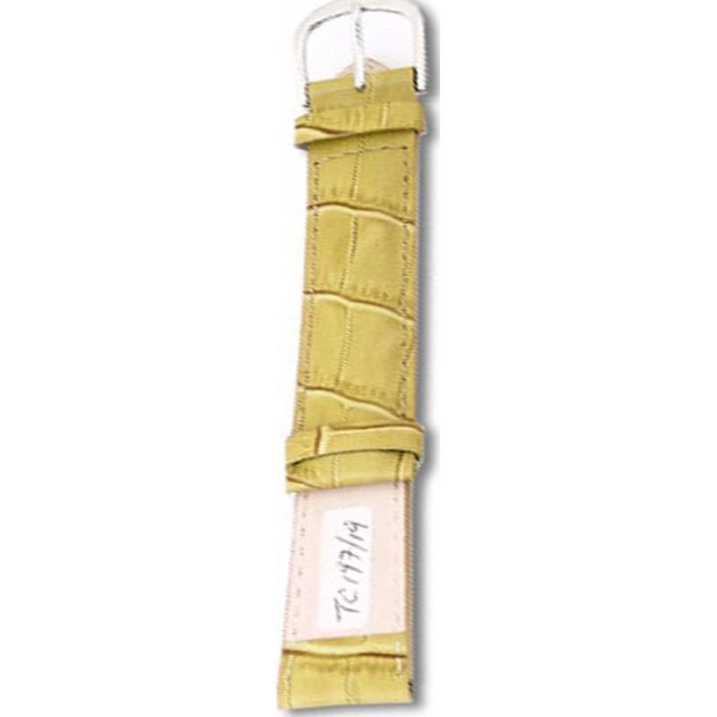 Krug-Baumen TC19719L Crocodile Green Leather Replacement Ladies Principle Strap